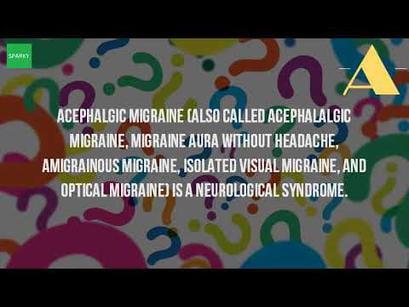 3 Powerful steps for acephalgic migraine