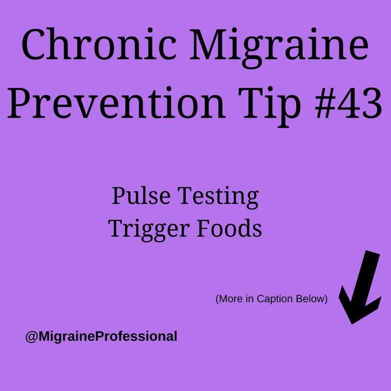 Chronic Migraine Prevention Tips #43
