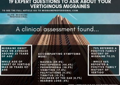 Can vestibular neuritis cause migraines and headaches?
