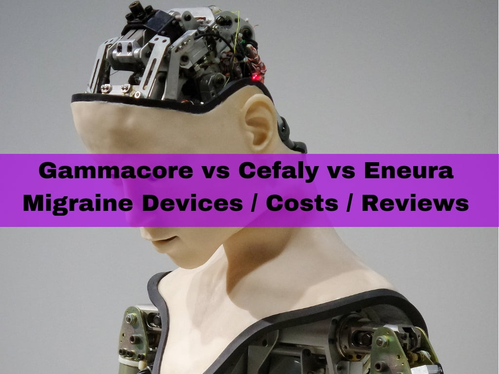 Gammacore vs Cefaly vs Eneura migraine devices / costs / reviews