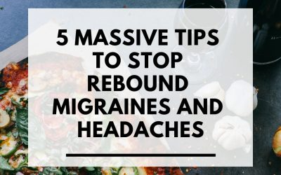 5 Massive tips to stop rebound migraines and headaches
