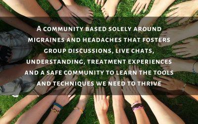 A Migraine App Based Around Community